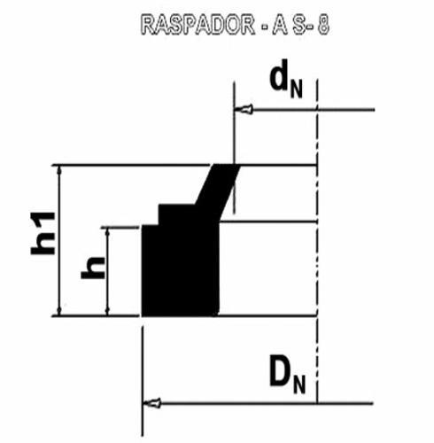 Raspador - AS8